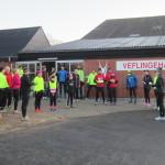 løberne gør klar til at varme op