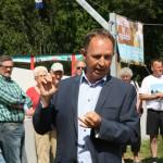 Også DBU´s Keld Bordinggaard roser Veflinges indsats for at få en multibane