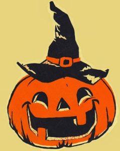 Halloween i Veflinge. På skolen og i kirken @ skolen i Veflinge